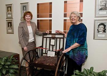 Sharon Olsen and Elizabeth (Ibby) Tanner