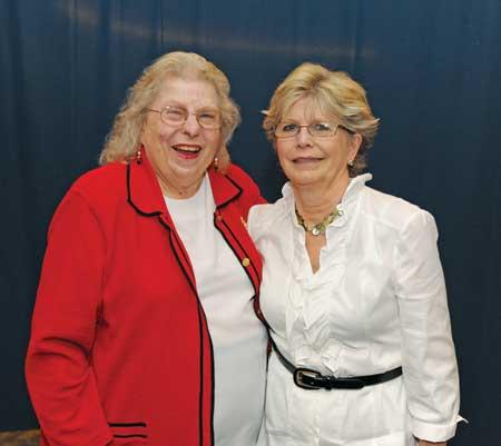 Mildred West Rogers (left) and Melinda Rose
