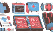 Illustration of surgical kits