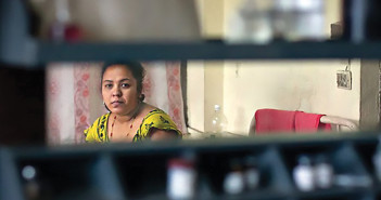 Woman in Kathmandu, Nepal