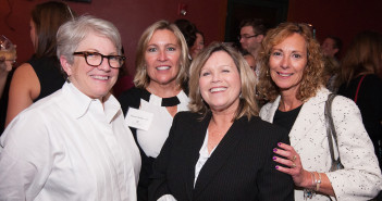 Susan Kulik with other attendees at Evening with the Stars 2014