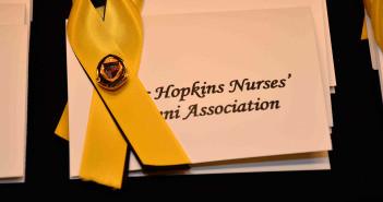 Hopkins nursing degree ribbon