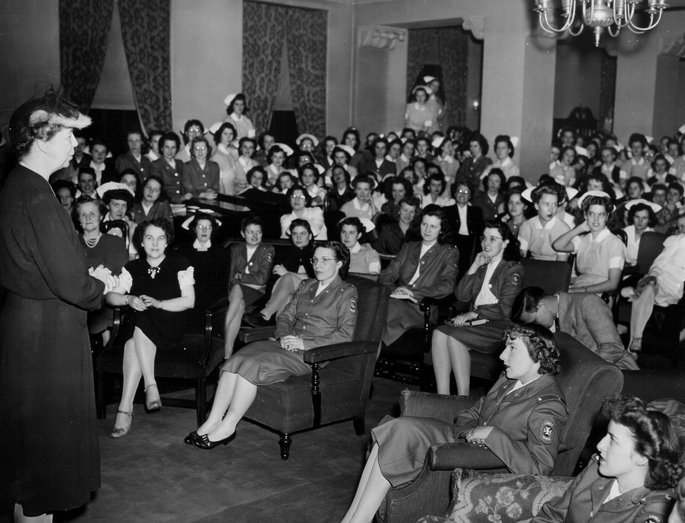 Hampton House in 1945