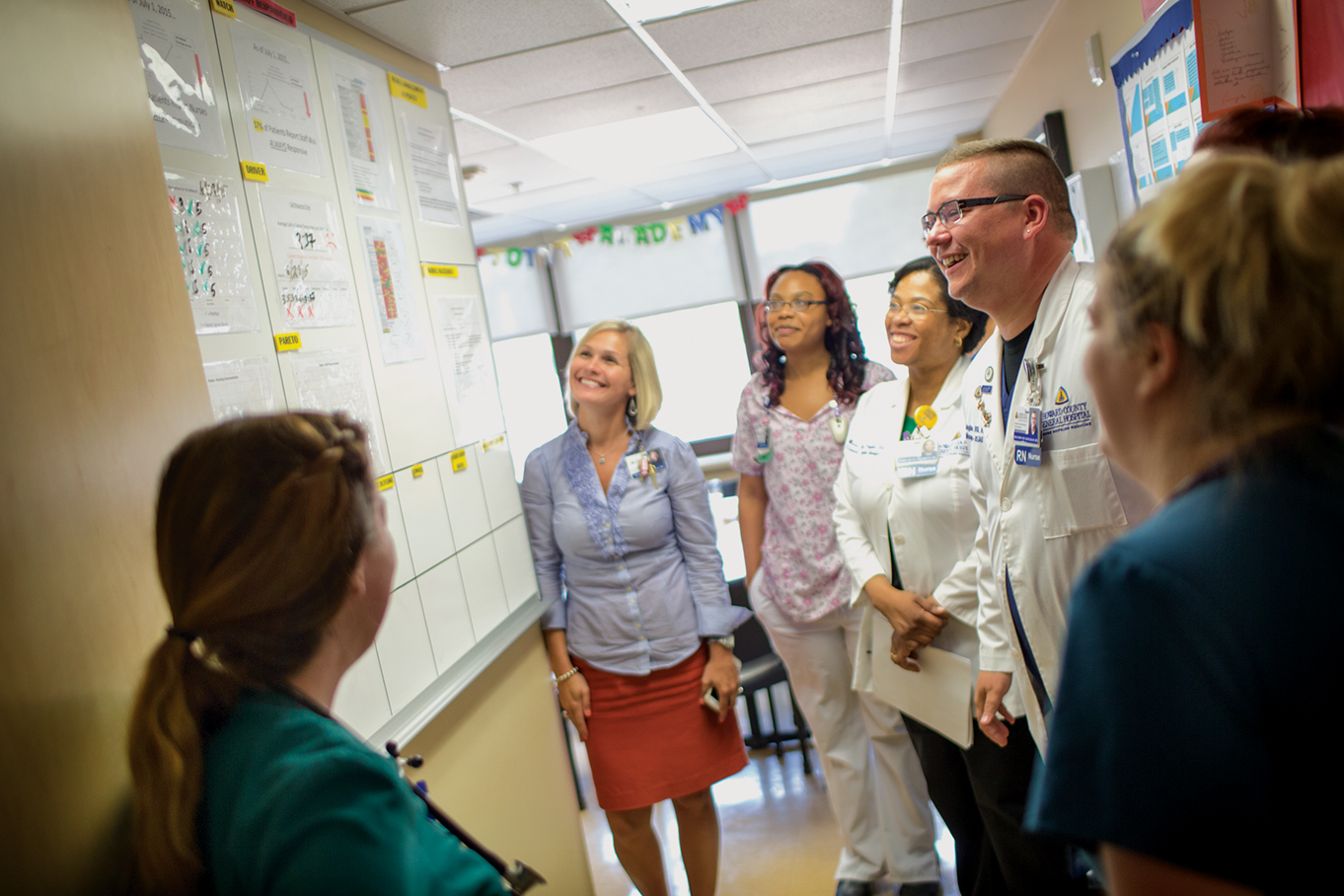 Howard County Nurse manager and team