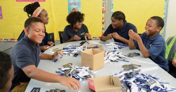 kids from Henderson-Hopkins school