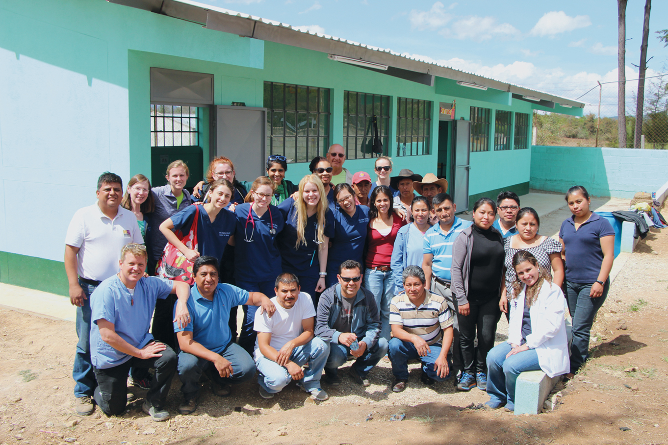 The whole team in Guatemala