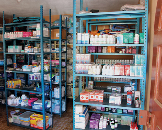 medicine supplies in Guatemala