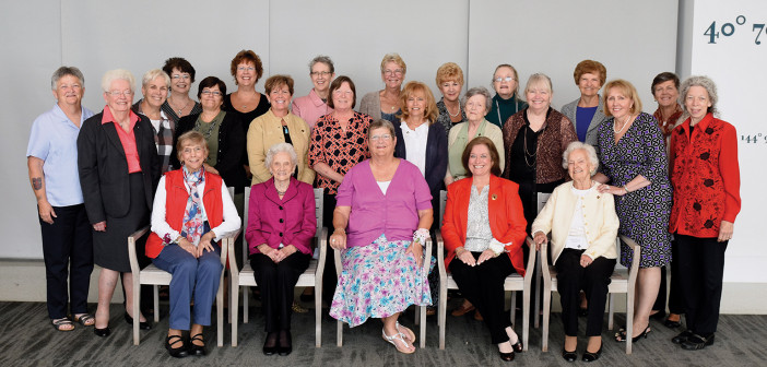 Alumni at the Reunion Lunch on September 26