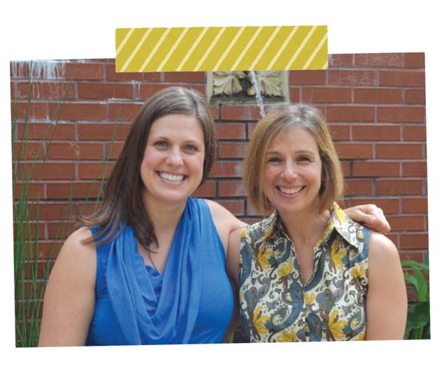 Jessica Kensky and Leah Pike