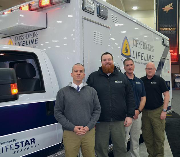 Scott Newton and members of his Lifeline Unit