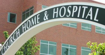 Church Home And Hospital sign