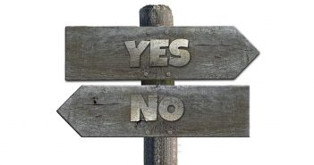 Yes or No sign