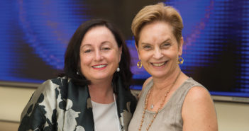 Dean Patricia Davidson and Cynda Rushton
