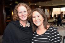 Kaci Hickox and Natasha Kormanik at Alumni Weekend 2016