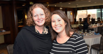 Kaci Hickox and Natasha Kormanik at Alumni Weekend 2016