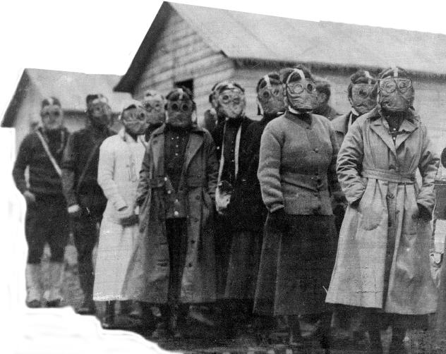 Nurses in World War I