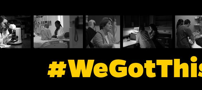 We're Nurses. #WeGotThis